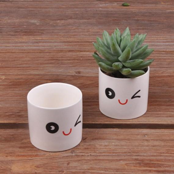 Cute ceramic pot kawaii - 11