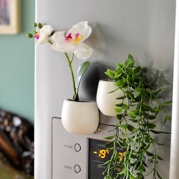 Pot magnétique pour le frigo