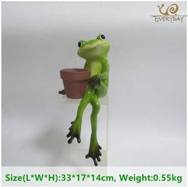 Grenouille tenant un pot - 9