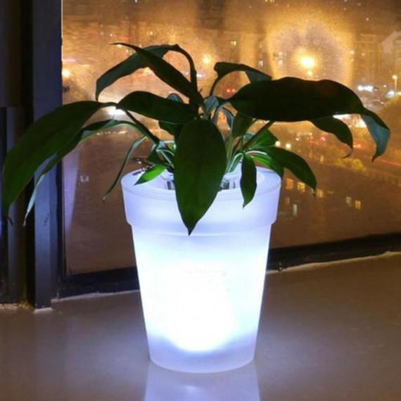 Cache-pot / Vase lumineux - 3