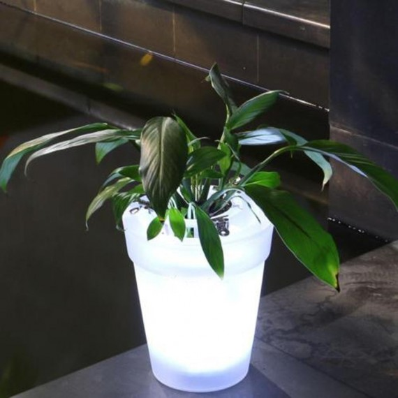 Cache-pot / Vase lumineux - 4