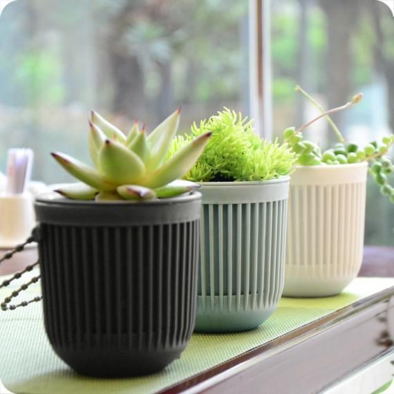Pot suspendu 3 couleurs - 3