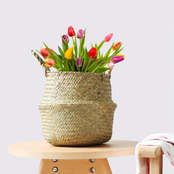 Wicker planter - 1