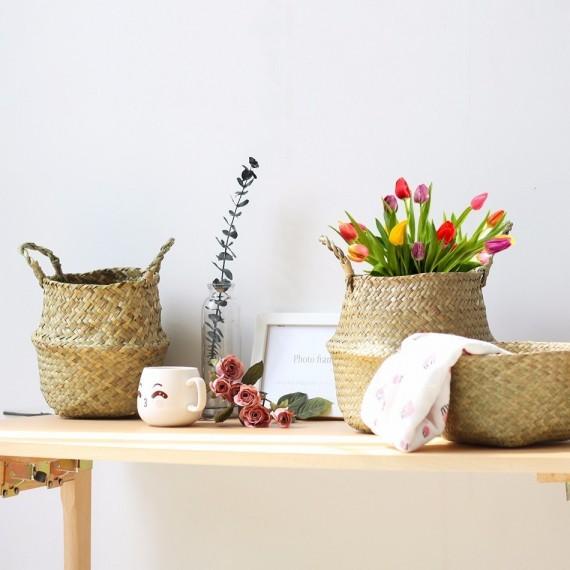 Wicker planter - 2