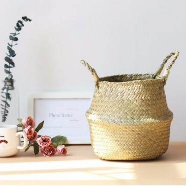 Wicker planter - 8