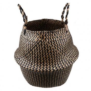 Cache-pot en osier design moderne - 9